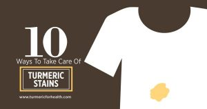 10 ways to take care of turmeric stains