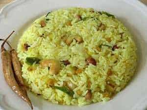 turmeric recipe lemon rice