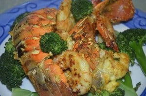 Crayfish N Prawn Extravaganza with Turmeric