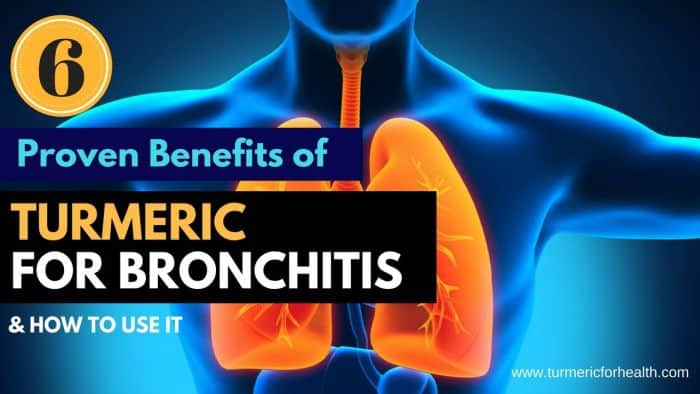 Benefits of Turmeric for Bronchitis patients
