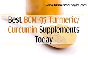 Best BCM-95 Turmeric Curcumin Supplements Today