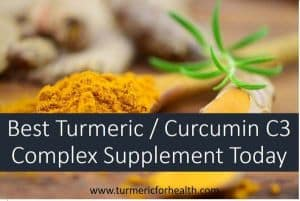 Best Turmeric Curcumin C3 Complex Supplement Today