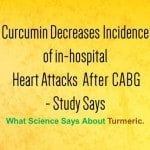 Curcumin Decreases Incidence of in-hospital Heart Attacks After CABG