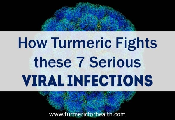 How Turmeric Helps in viral infections