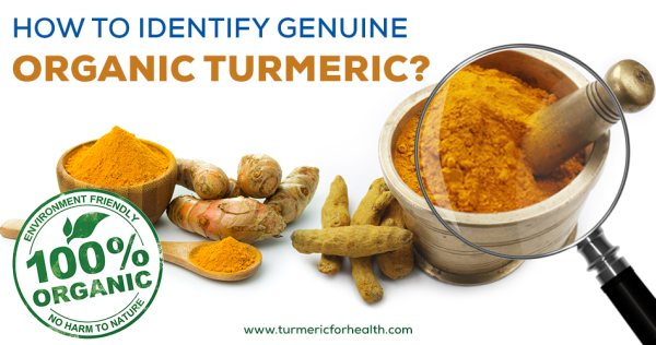 How to Identify Genuine Organic Turmeric New