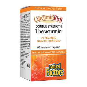 Natural Factors – CurcuminRich Double Strength Theracurmin