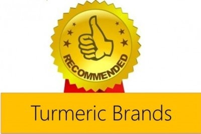 Recommended turmeric brands by us