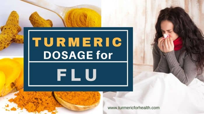 Turmeric dosage for Flu 1