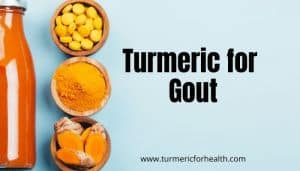 Turmeric for Gout