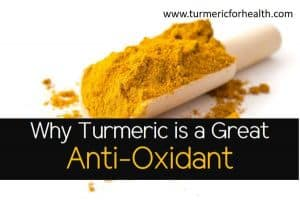 Why Turmeric is a Great Anti-Oxidant