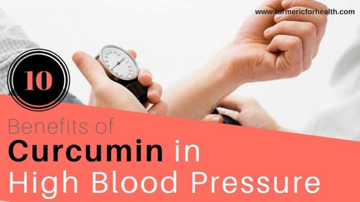 benefits of curcumin in high blood pressure