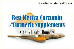 best meriva curcumin and turmeric supplements