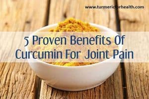 curcumin for joint pain