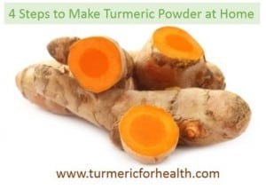 how to make turmeric powder at home with ease