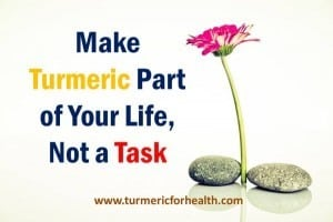 make turmeric part of your life