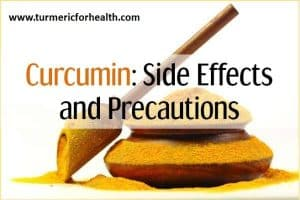 side effects and precautions of curcumin