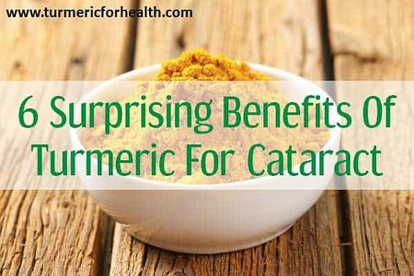 turmeric for cataract