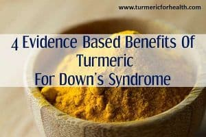 turmeric for downs syndrome