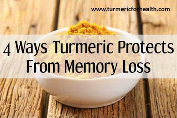 turmeric for memory loss