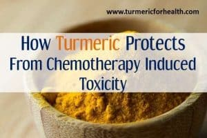turmeric protects from chemotherapy induced toxicity