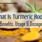 what is turmeric root