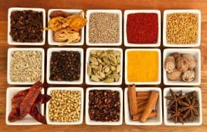 which spices go well with turmeric